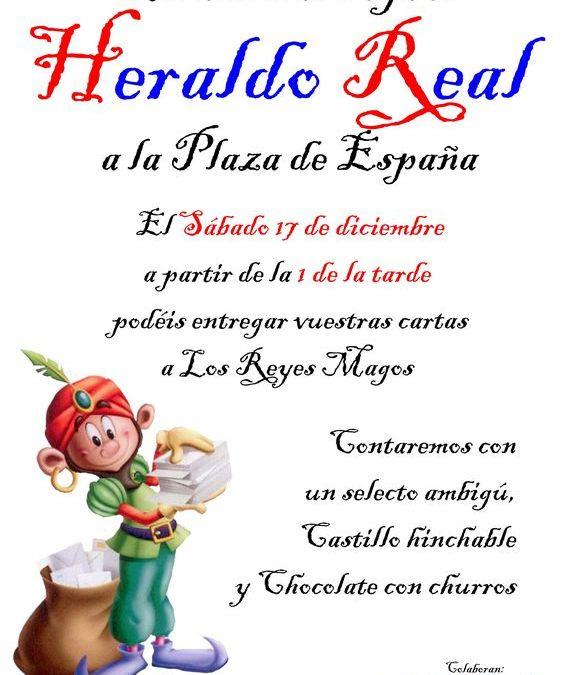 HERALDO REAL DE LA HERMANDAD DE LA SOLEDAD DE OLIVARES