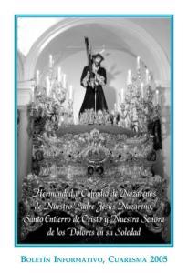 Boletín Cuaresma 2005