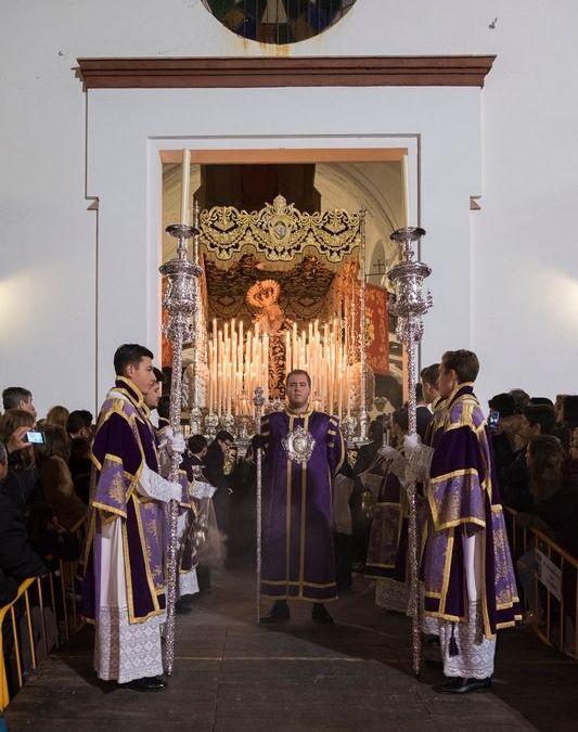 SALIDA DE NUESTRA SEÑORA DE LOS DOLORES DE OLIVARES 2018