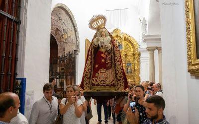 SE SUSPENDEN LOS TRASLADOS DE LA VIRGEN DE LOS DOLORES PARA EL BESAMANOS