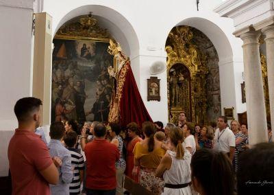 Traslado Virgen Besamanos 2018