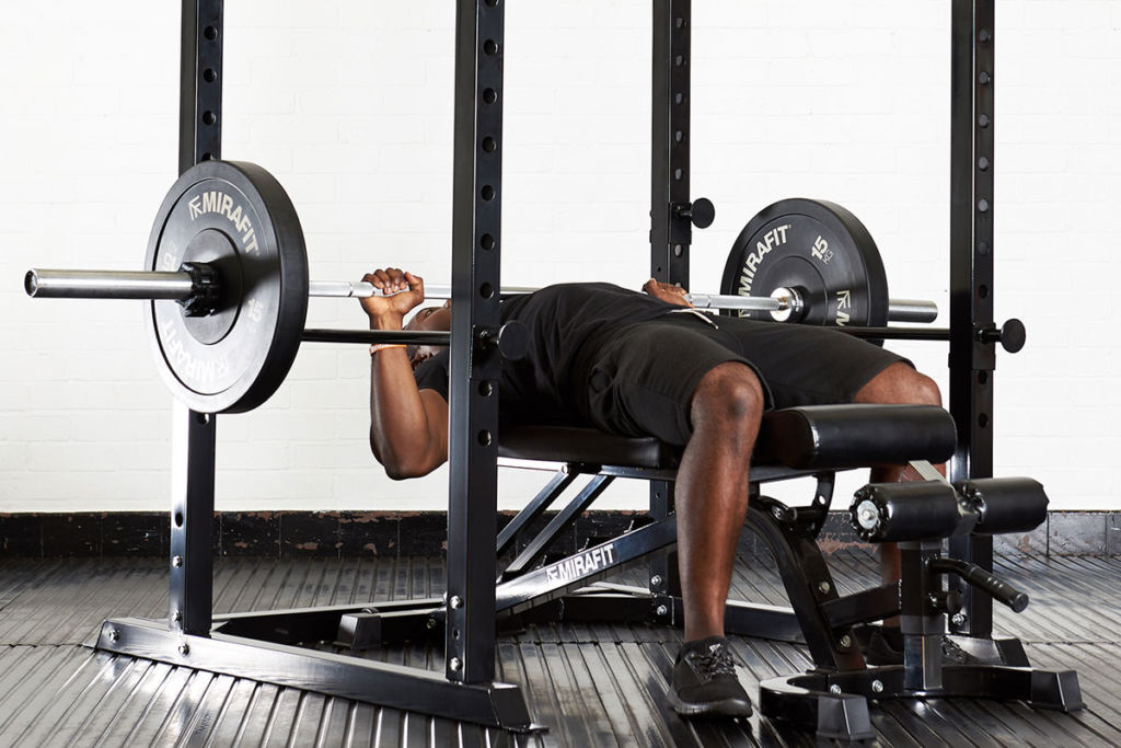 how to use a power rack mirafit
