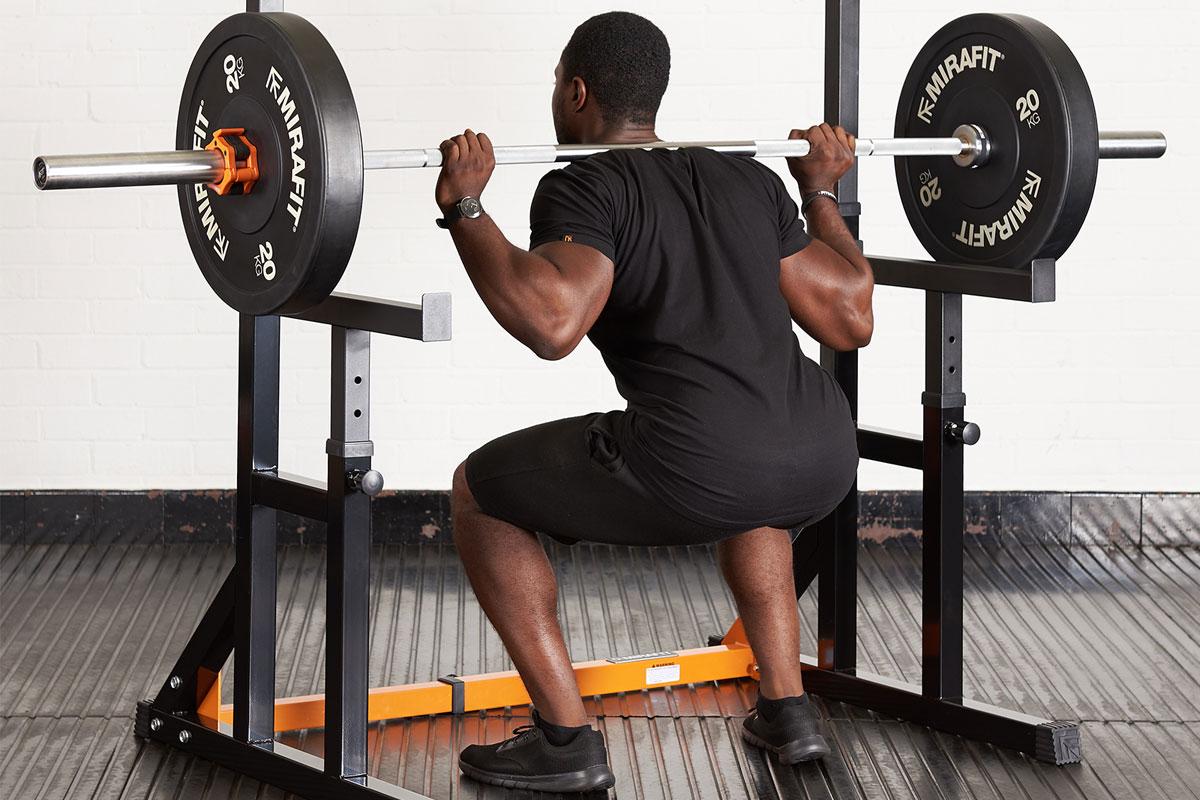 9 ways to use a squat rack mirafit