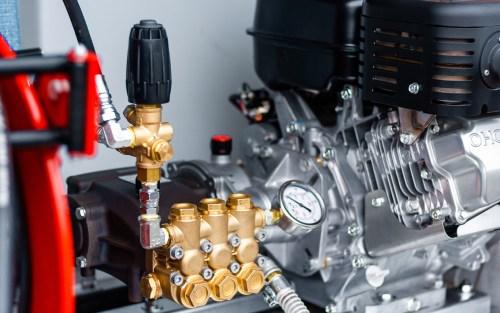 close up pompe haute pression hawk webpage