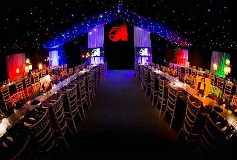 Studio 54 Disco Themed Party Marquee
