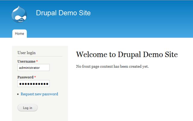 Miraget Install Drupal Module - Admin Login
