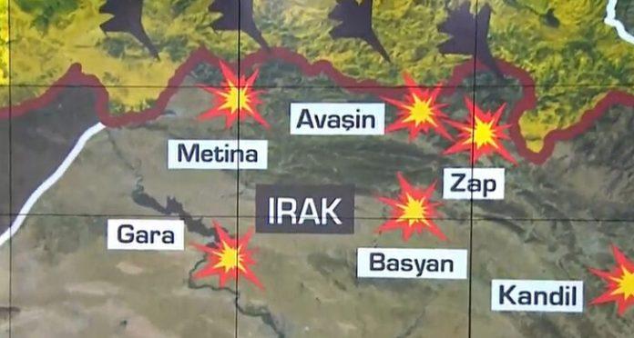 Son Dakika: Kuzey Irak'a geniş çaplı harekat! Hedefler vuruluyor