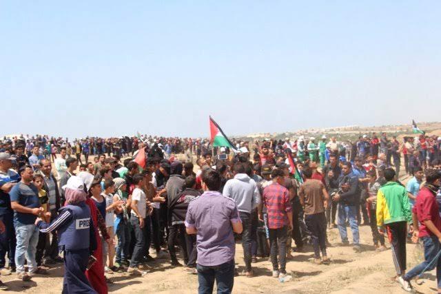 İsrail güçleri Batı Şeria'da onlarca Filistinliyi yaraladı!