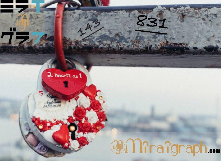 831=アイラブユーの隠語!?海外の告白はオシャレに使える!!8月31日はI Love Youの日『今日というミライグラフ365』