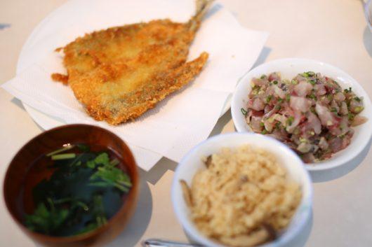 みらいママ講座 魚のさばき方 ギャラクシティ とんがりキッチン アジフライ 献立