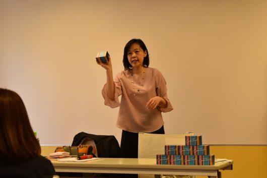 第1回みらいママ講座「自己分析」レポート キャリアトランプ 講師 近藤眞寿美