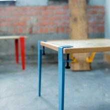 """オシャレなテーブルは板さえあればOK。脚は""""Floyd Leg""""を使おう"""