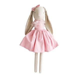 AR Juliette Bunny - Pink Spot 48cm