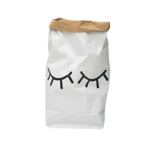 TK Paper Bag - Closed Eye