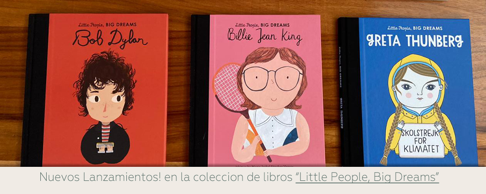 Libros niños little people