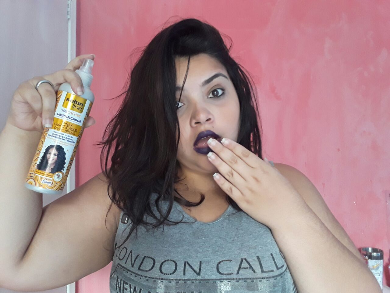 Resenha spray salon line