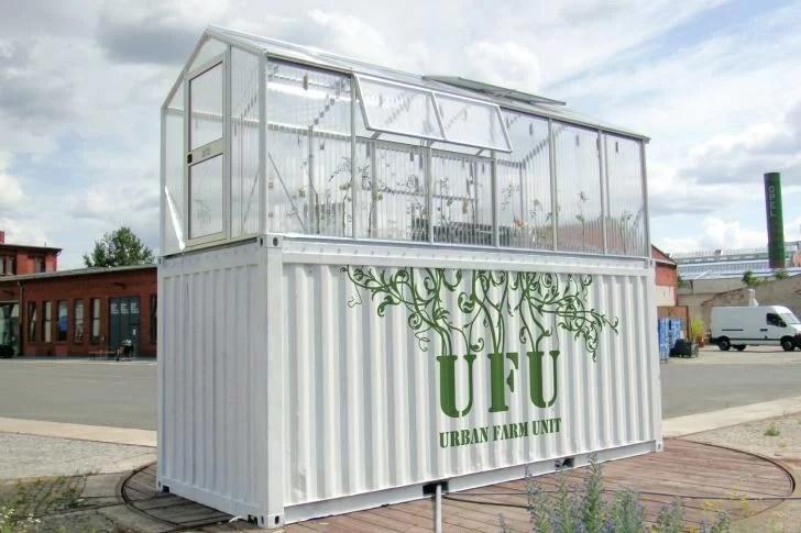 Container e Agricultura sustentável