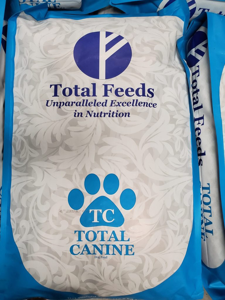 NEW, Total Feeds, Total Canine dog food for sale