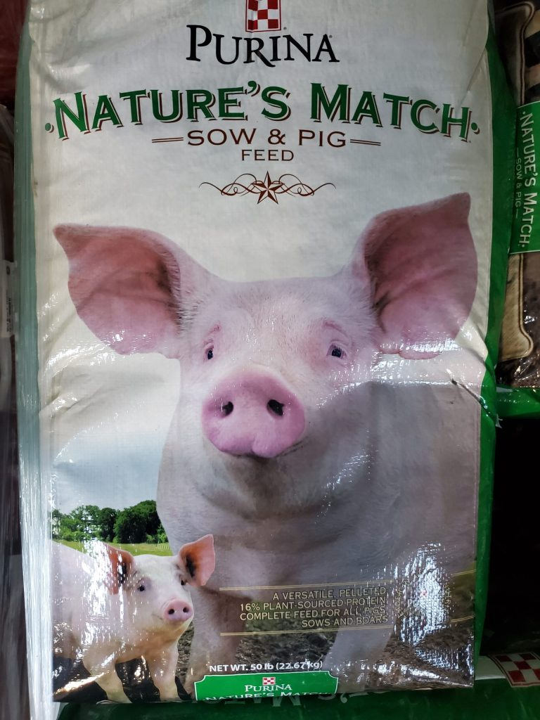 Purina Pig and Sow fifty pound bag for sale