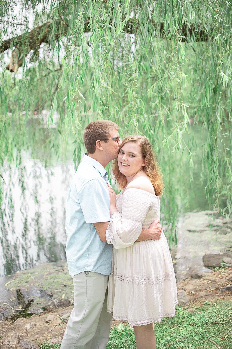 Romantic Engagement Session Longs Park