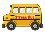 stress bus, work stress, life stress