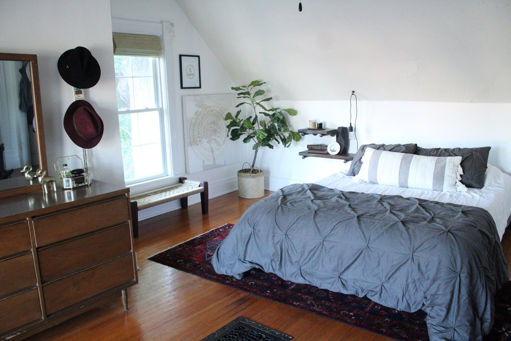 The Evolution of Our Master Bedroom | Miranda Schroeder  www.mirandaschroeder.com
