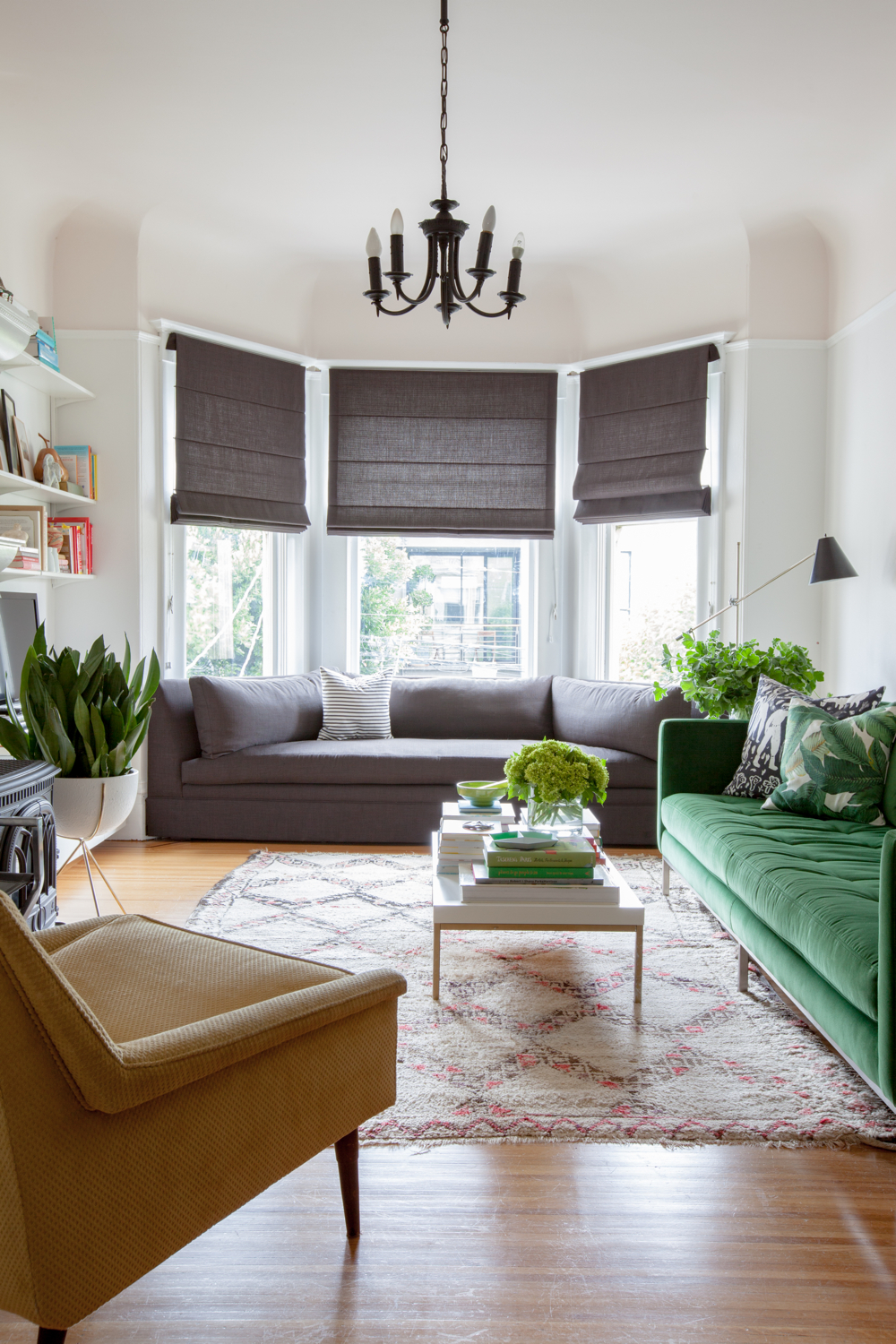 How to Style a Bay Window | Miranda Schroeder Blog