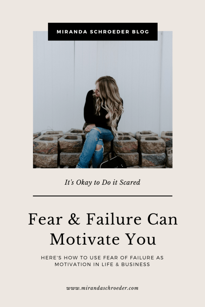 "How Fear & Failure Can Motivate You | Miranda Schroeder Blog  ""Failure should be our teacher, not our undertaker. Failure is delay, not defeat. It is a temporary detour, not a dead end."" - Denis Waitley.  https://mirandaschroeder.com/"