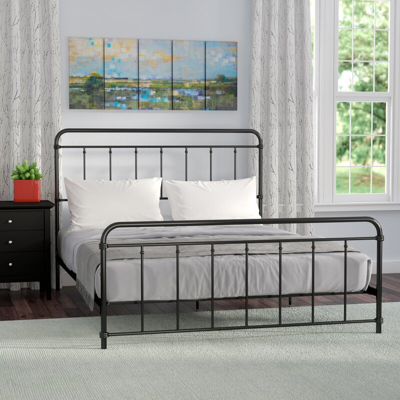 6 Stylish Black, Metal Bed Frames Under $350 | Miranda Schroeder Blog  www.mirandaschroeder.com