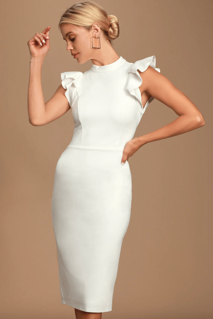 The Best Little White Dresses for Your Bachelorette Party and Bridal Shower | Miranda Schroeder Blog  www.mirandaschroeder.com