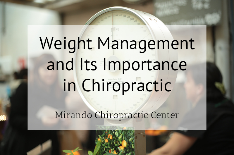 Weight Importance and Its Significance in Chiropractic