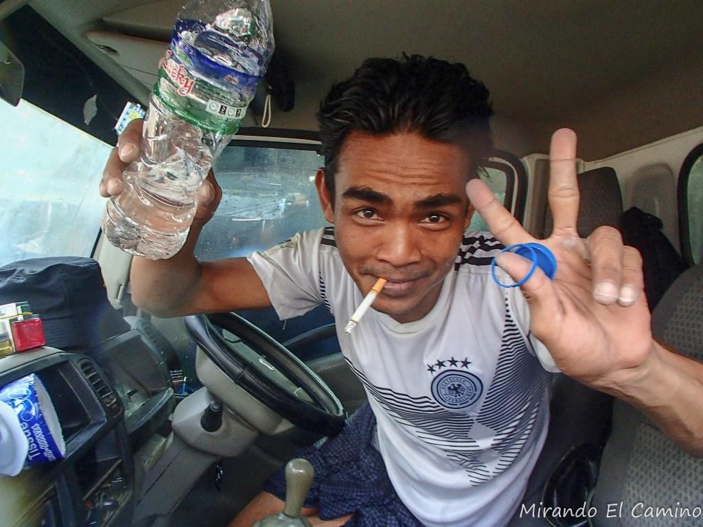 Fiesta del Agua en Myanmar