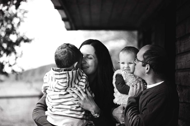 enfield photographer mira with her family