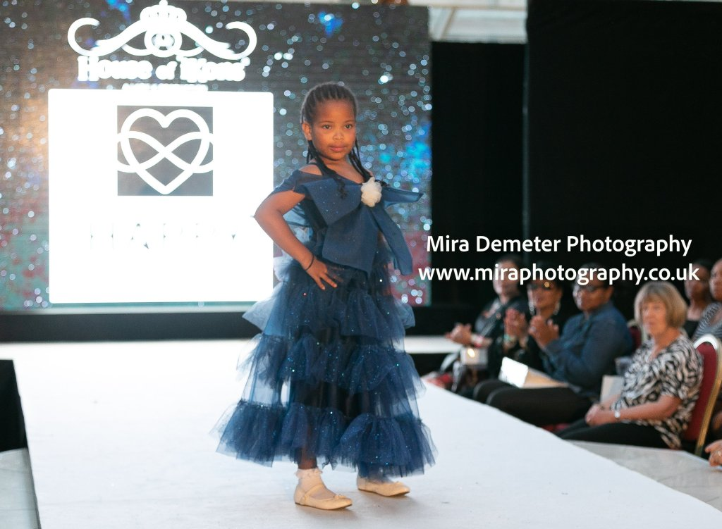 House of Ikons London Fashion Show 2019 children catwalk