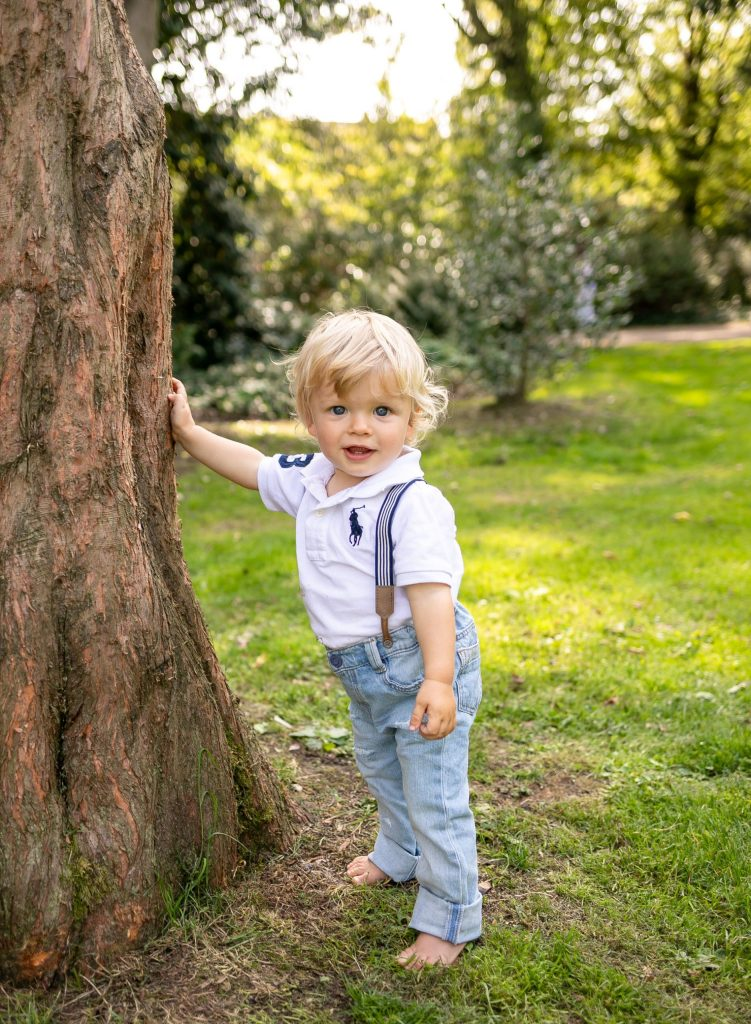 Outdoor Family and Children Photography in Enfield Barnet Hertfordshire Family celebrating 1st Birthday