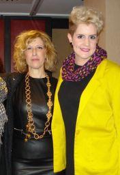 Junto a Rosalía Zahíno