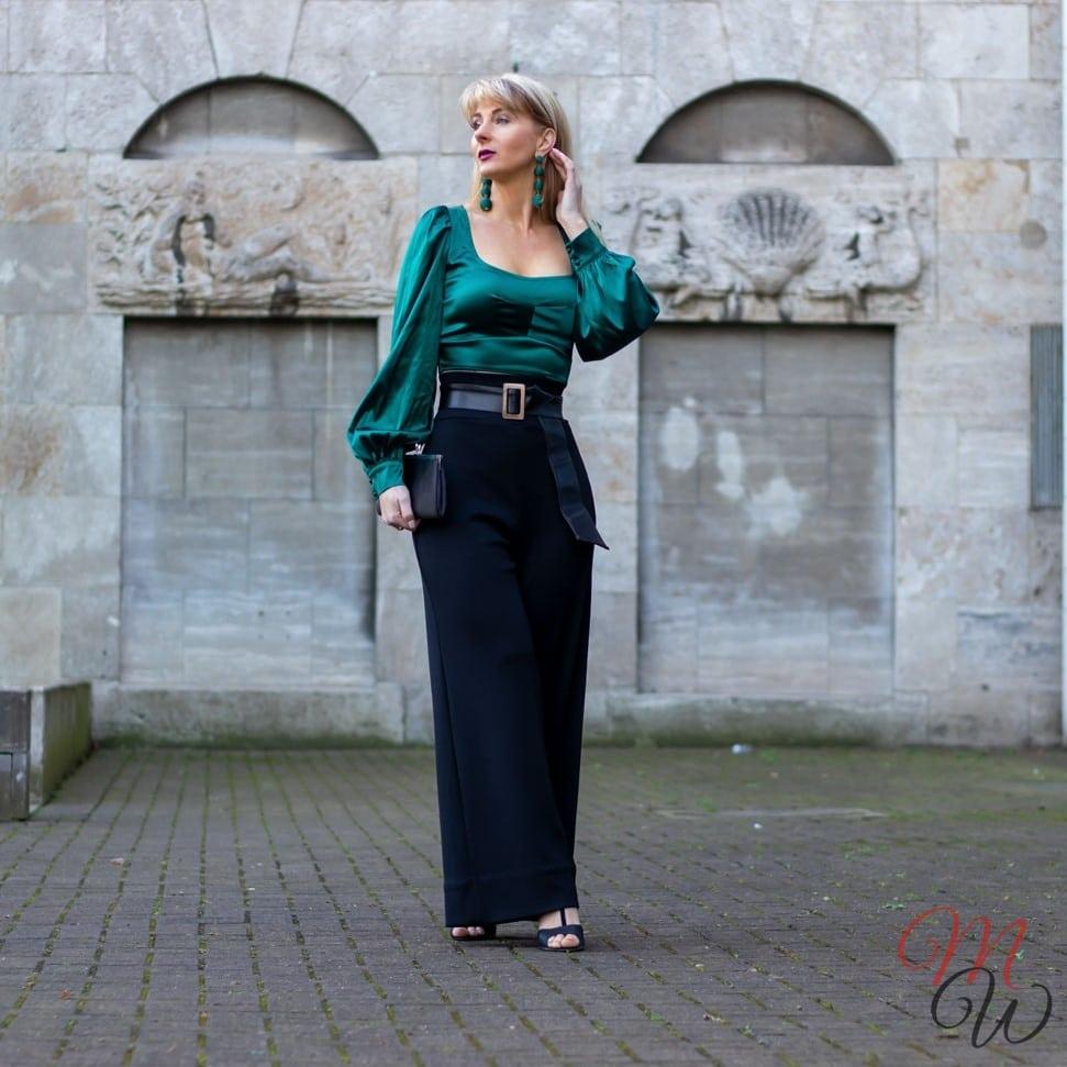 Femmeluxefinery Satin blouse
