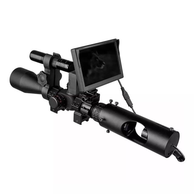 visor nocturno para mira telescopica