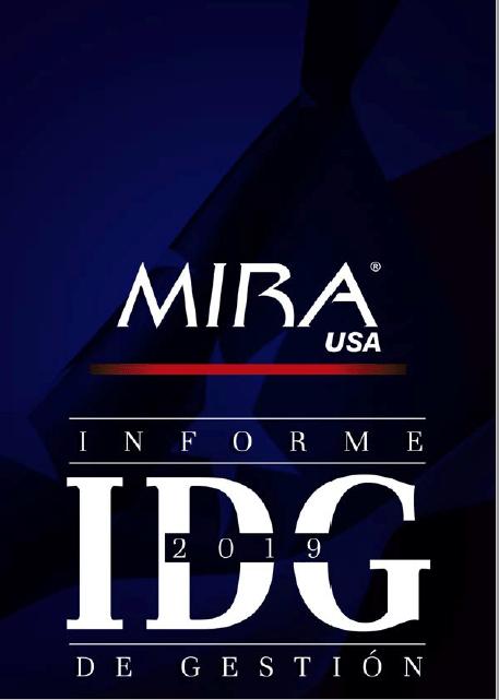 Informe de gestión MIRA USA 2019