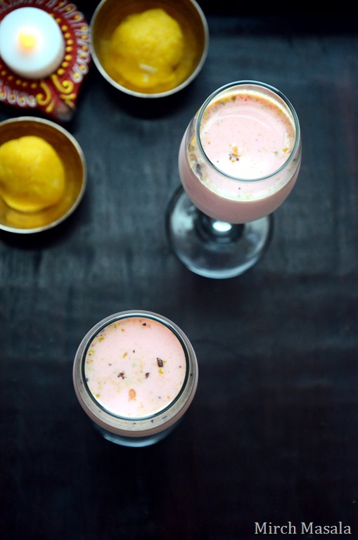 Cardamom Rose Milk - Mirch Masala (2)