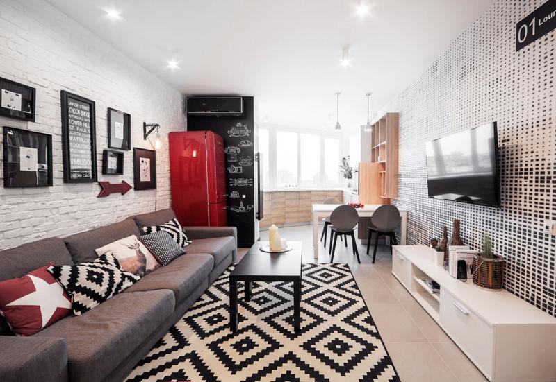 дизайн зала в квартире фото 2019 современные идеи 3