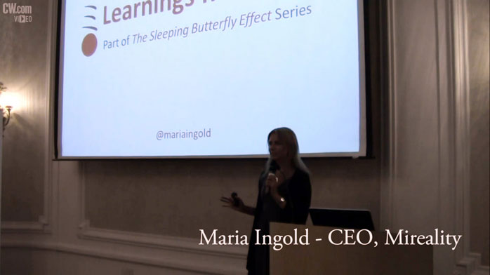 The Sleeping Butterfly Effect: On Being a Woman in Technology