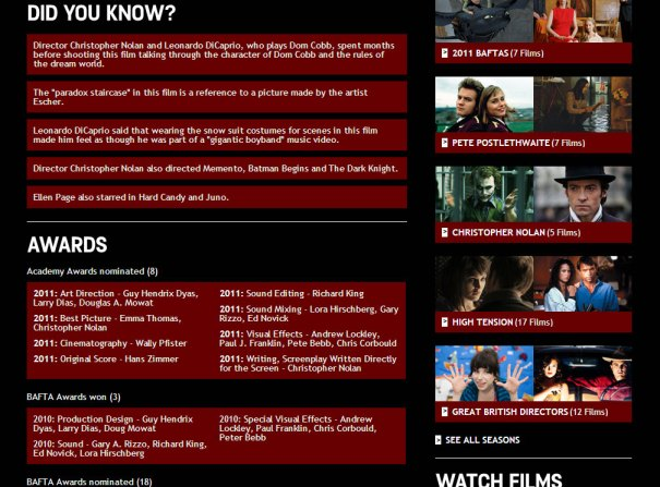 Film4oD - Film page - bottom