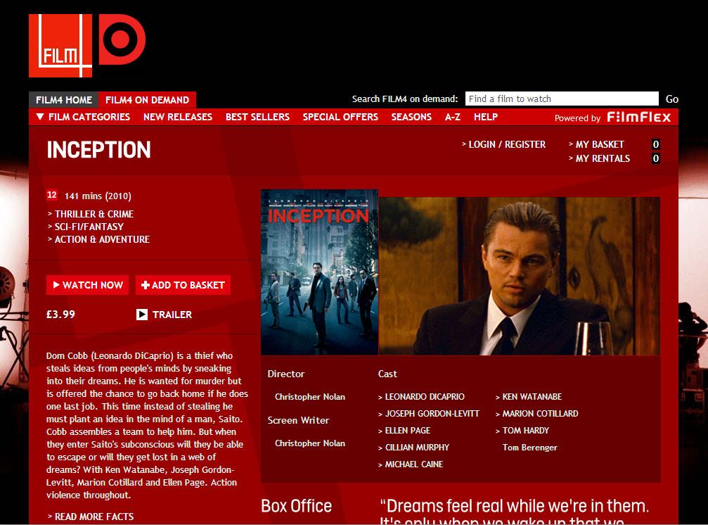 Film4oD — Film top