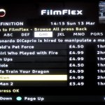 Virgin Movies cable — High Definition