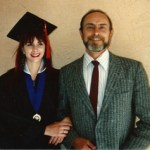 Me and Dad at my university graduation