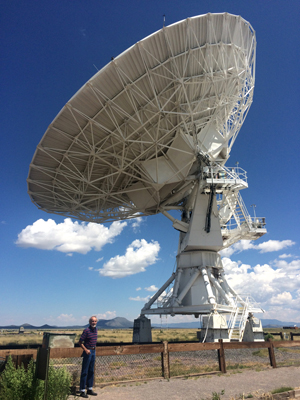 Dad at VLA