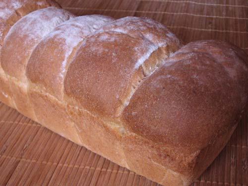 Pan Sandwich en Molde de Plum-Cake