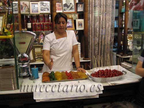 Ibana y las frutas de Aragón