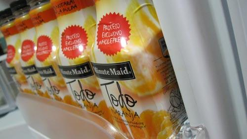 Probando Minute Maid Todo Naranja